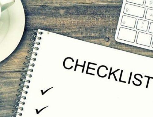 Checklist inkomstenbelasting 2018